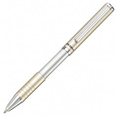 Olovka hemijska Zebra Pen SL-F1 Telescopic 0,7 silver/blue 82407/4901681824076