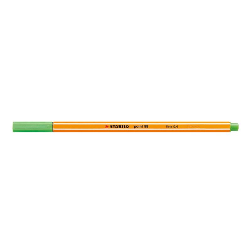 Microliner Stabilo 88/43 list zeleni