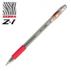 Olovka hemijska Zebra pen Z1 0,7 Red/Red 24163