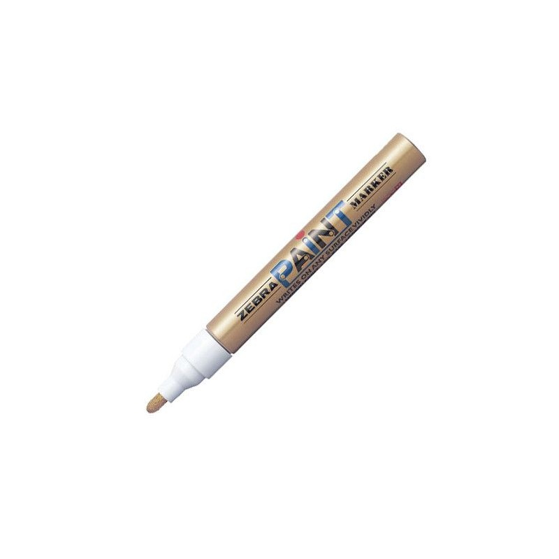 Paint marker Zebra Pen Gold/Gold 51027