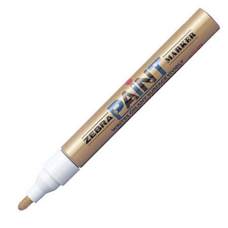 Paint marker Zebra Gold/Gold 51027 / 4901681510276