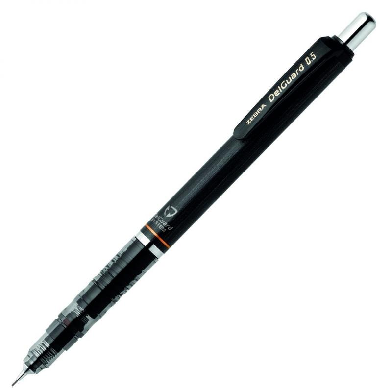 Tehnička olovka Zebra Pen DelGuard 0,5 Black / 4901681593910