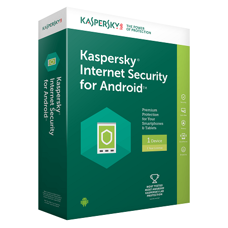 Kaspersky Internet Security za Android 1 licenca