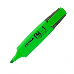 Text marker Zebra FM-1 Green FM-1GR/ 4901681361946