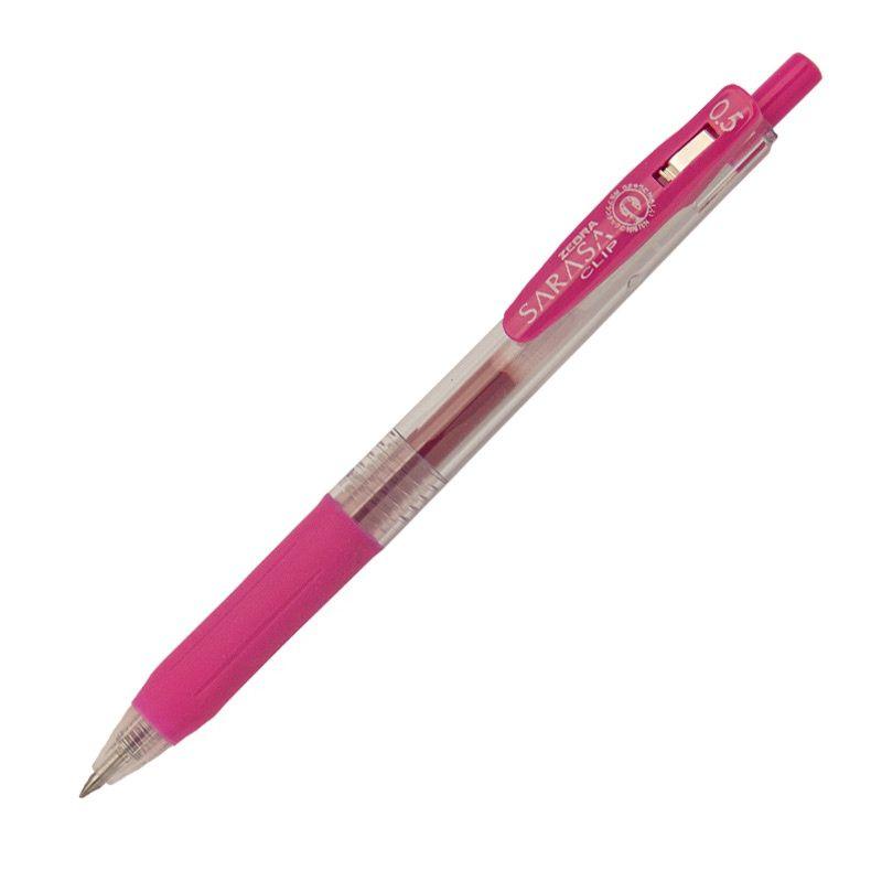 Roler gel Zebra Sarasa Gel Clip 0,5 Pink/Pink Gel Ink TC BT 14317/ 4901681143177