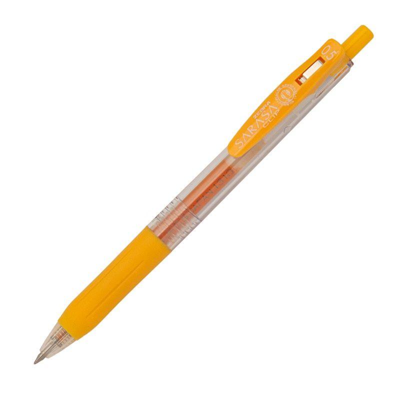 Roler gel Zebra Sarasa Gel Clip 0,5 Yellow/Yellow Gel Ink TC BT 35135/ 4901681351350