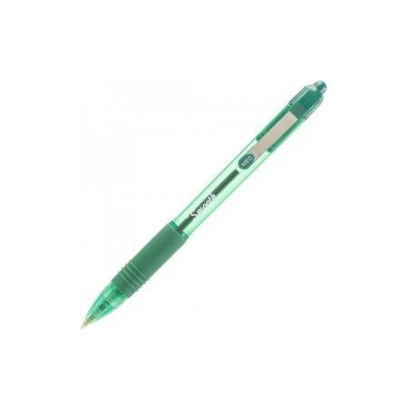 Hemijska olovka Zebra Z-GRIP SMOOTH 1,0 Green/Green 22564 / 4901681225644