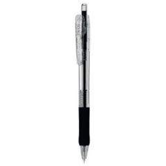 Hemijska olovka Zebra Tapli Clip 0,5 Black/Black 38331-10/ 4901681383313
