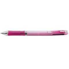 Hemijska olovka Zebra Clip On Slim 4C 0,7 Pastel Pink (4 boje u jednom telu, crna+plava+zelena+crvena) 45977/ 4901681459773/