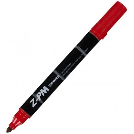 Marker permanentni Zebra Z-PM Red 33323/ 4901681333233