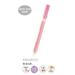 Text marker - signir Zebra Kirarich Pink sa sjajem - gliterom...