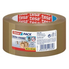 Selotejp – Traka lepljiva tesa tesapack ® Ultra strong 50mm/66m 57177-11 braon - 4042448123626