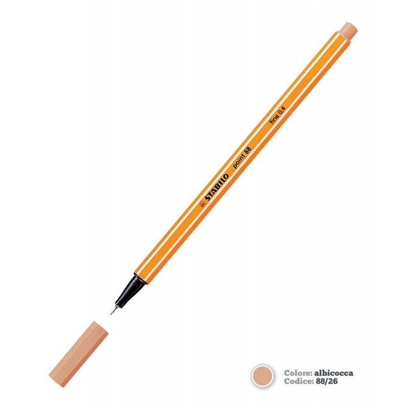 Microliner Stabilo 88/26 oranž