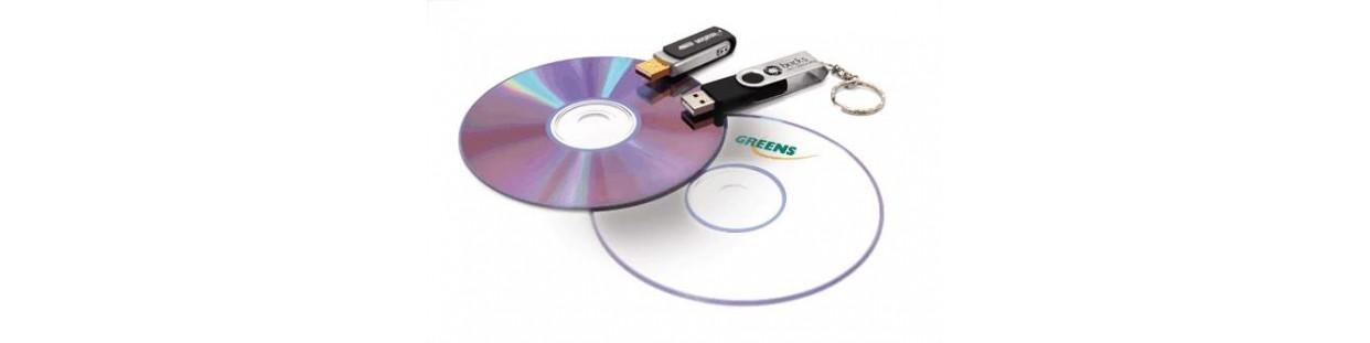 Cd, DVD, USB memorija